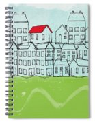 One Red Roof Spiral Notebook
