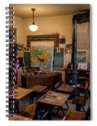 one Room School House Spiral Notebook