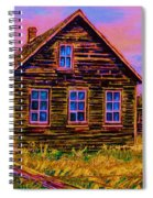 One Room Schoolhouse Spiral Notebook