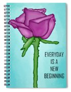 One Rose Everyday Spiral Notebook