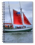 One Sail Down Spiral Notebook