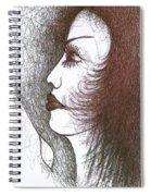 One Tear  Spiral Notebook