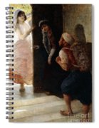 One Thousand And One Nights, The Porter Of Baghdad Spiral Notebook