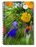 One Beautiful White Flower Spiral Notebook