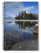 One Winters Morning Spiral Notebook