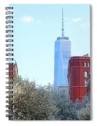 One World Trade Center In Spring Spiral Notebook