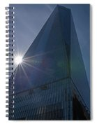 One World Trade Center New York Ny Sunset Spiral Notebook
