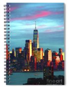 One World Trade Sunset Spectacle Spiral Notebook