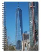 One Wtc 2016 Spiral Notebook