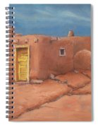 One Yellow Door Spiral Notebook