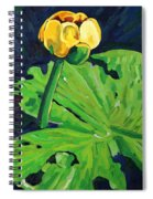 One Yellow Lily Spiral Notebook