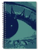 Ones Own Eye Spiral Notebook