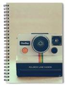 Onestep Polaroid Spiral Notebook