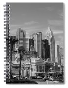 Only In Vegas Spiral Notebook