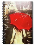 Only Me In Paris  Spiral Notebook