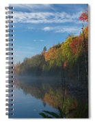 Ontario Autumn Scenery Spiral Notebook