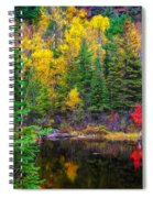 Ontario Tarn Spiral Notebook