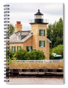 Ontonagon Lighthouse Spiral Notebook