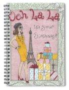 Ooh La La Spiral Notebook