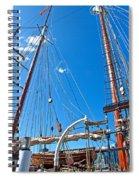 Oosterschelde In Darling Harbour Spiral Notebook