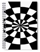 Op Art Spiral Notebook
