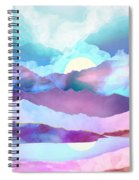 Opal Mountains Spiral Notebook