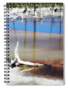 Opalescent Pool Yellowstone Np Spiral Notebook