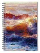 Opalescent Sea Spiral Notebook