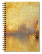 Opalescent Venice Spiral Notebook
