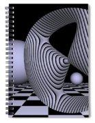 Opart Devil's Curve Spiral Notebook