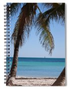 Open Beach View Spiral Notebook