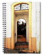 Open Doorway Spiral Notebook