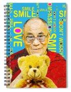 Open Heart, Open Mind - Sky Blue Spiral Notebook