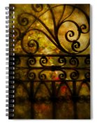 Open Iron Gate Spiral Notebook