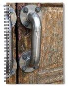 Open Me Spiral Notebook