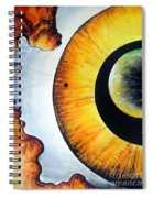 Open Mind. Door To Eternity Spiral Notebook