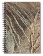 open pit mine Kennecott, copper, gold and silver mine operation Spiral Notebook