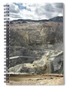 Open Pit Mine, Utah, United States Spiral Notebook