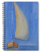 Open Sail Spiral Notebook