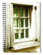 Open The Window Spiral Notebook