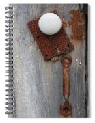 Open Up Spiral Notebook
