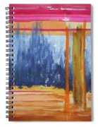 Opening Spiral Notebook