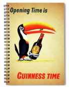 Opening Time Is Guinness Time Spiral Notebook