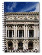 Opera Garnier. Paris. France Spiral Notebook