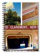 Opera House Claremont Nh Spiral Notebook