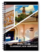 Opera House Diagonal Collage Spiral Notebook