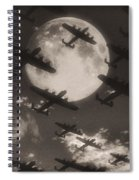 Operation Moonlight Spiral Notebook