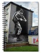 Operation Motorman Mural In Derry Spiral Notebook