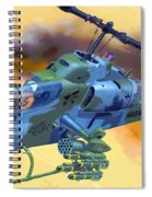 Operation Wolf Spiral Notebook