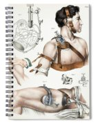 Operative Surgery, Illustration, 1846 Spiral Notebook